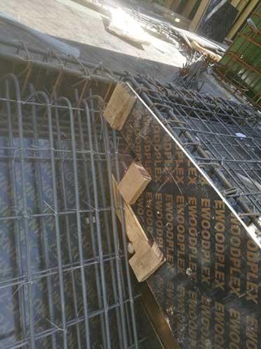 建筑工地木工楼梯的做法、木工支模楼梯做法图片