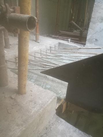 建筑工地木工做楼梯图片、建筑木工楼梯做法图片