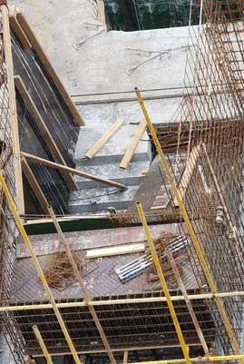 建筑工地木工楼梯的做法、建筑木工楼梯做法图片