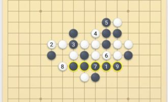 微信五子棋残局3关怎么过_五子棋残局闯关第三关对决_小程序第3关