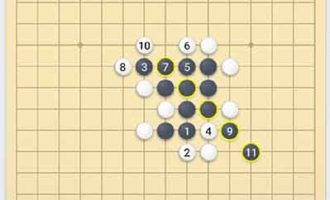 微信五子棋18关_小程序残局闯关_第十八关怎么样才可以赢